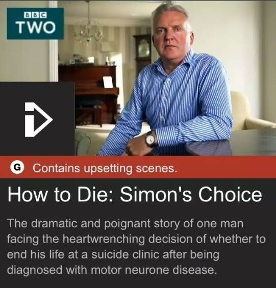 "BBC-Information zu Film ""How To Die"""